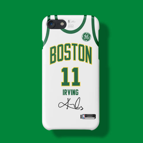 detailed look f1aa3 bdef7 Boston Celtics City Edition Jersey Phone Case