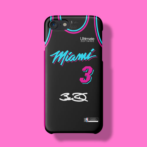 various colors dff78 6f42a Miami Heat City Edition Jersey Phone Case