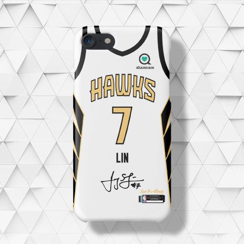 141696f0459 Atlanta Hawks City Edition Jersey Phone Case – sportcaseplug
