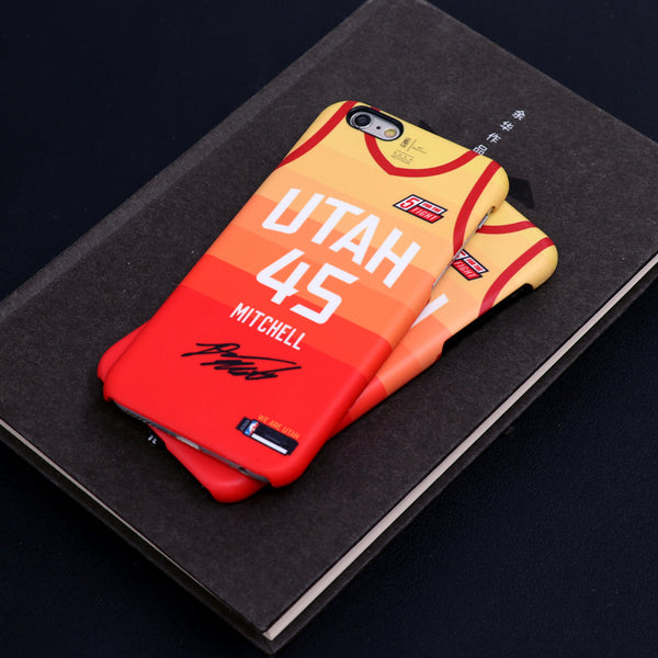 big sale eb70f d07d6 Utah Jazz Orange City Edition Jersey Phone Case – sportcaseplug