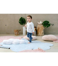 Charger l'image dans la galerie, Tapis Lavable Puffy Dream Blue