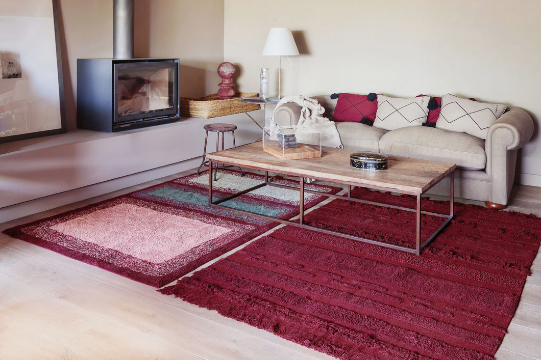 tapis lavable air savannah red