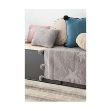Charger l'image dans la galerie, COUSSIN HIPPY STARS PEARL GREY