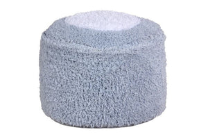 Pouf Marshmallow Round Light Blue