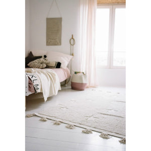 TAPIS HIPPY STARS NATURAL