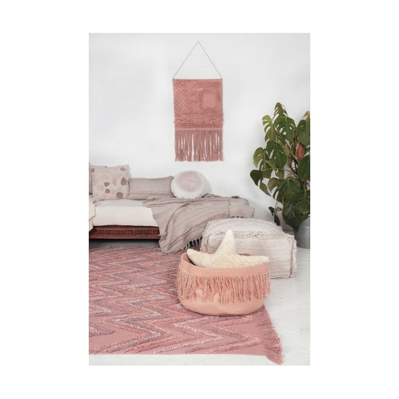 Macramé Earth Canyon Rose