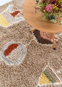 Tapis Lavable Laine Arizona