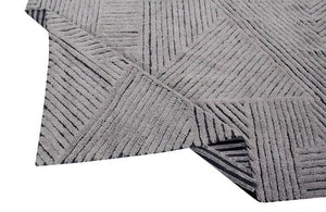 Tapis Laine Lavable Black Chia