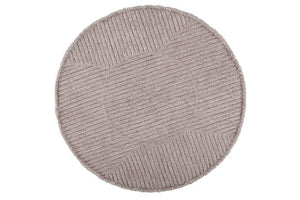 Tapis Laine Lavable Rose Tea