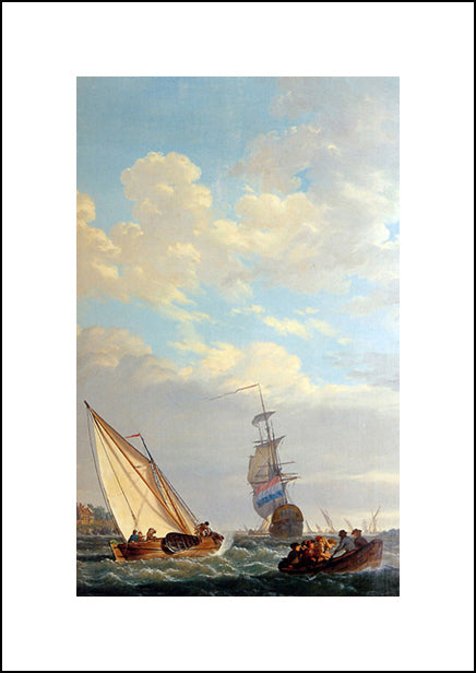 Sailing Of The Dordrecht