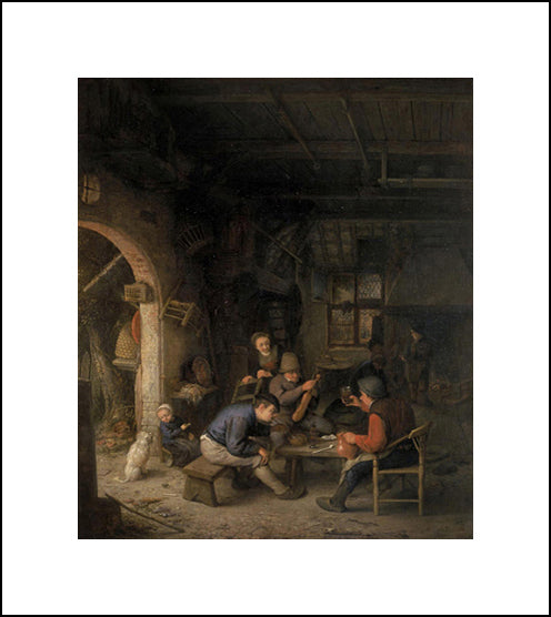 Peasants In An Inn
