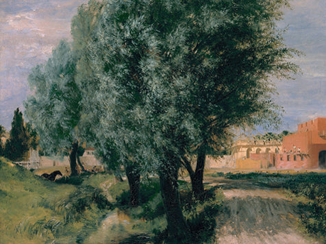 Building Site With Willows