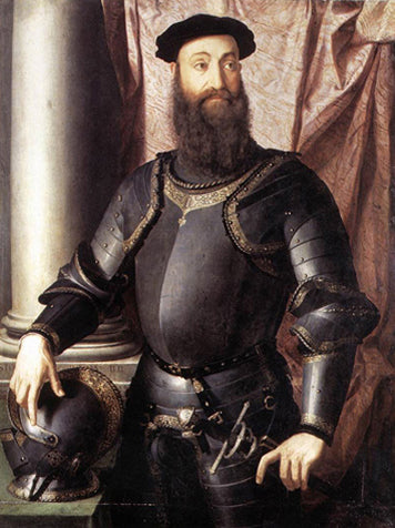 Portrait Of Stefano Iv Colonna