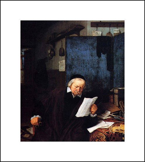 Lawyer In His Study