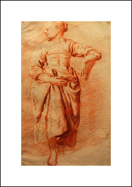 Study Of A Woman In Peasant Dress