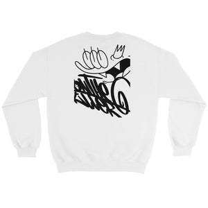 TAG SWEATSHIRT WHITE