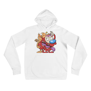 REN and STIMPY HOODIE