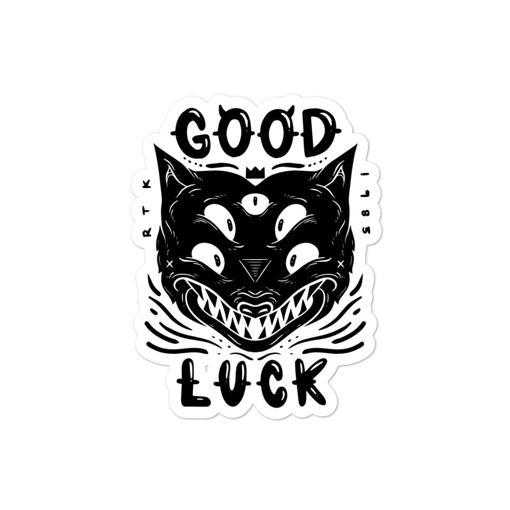 GOOD LUCK STICKER
