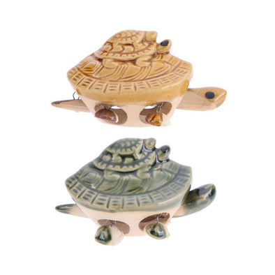 Ceramic Sea Turtle Figurine - Ocean Club Co