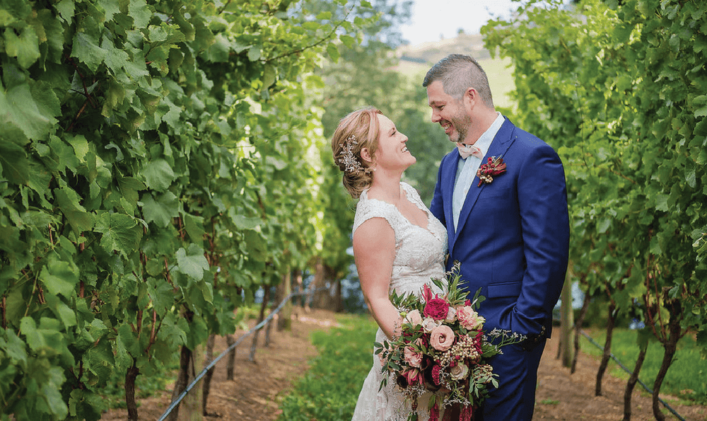 TASSIE WEDDING IS TAILOR-MADE FOR RENE & EMMA