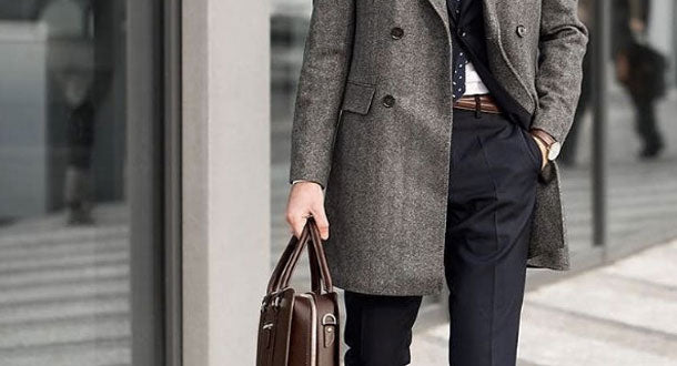 H's wardrobe staple: The overcoat