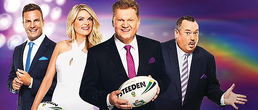 DRESSING THE NRL FOOTY SHOW TEAM