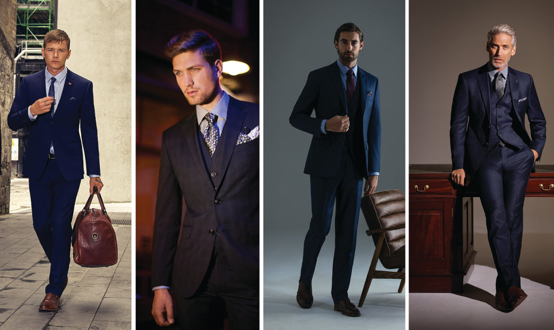 GETTING YOUR SUIT STYLE RIGHT FOR EVERY STAGE OF YOUR CAREER