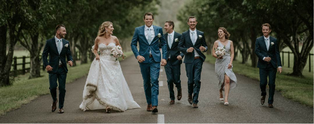 TOTAL TAILOR-MADE STYLE FOR LAUREN & PETE'S WEDDING