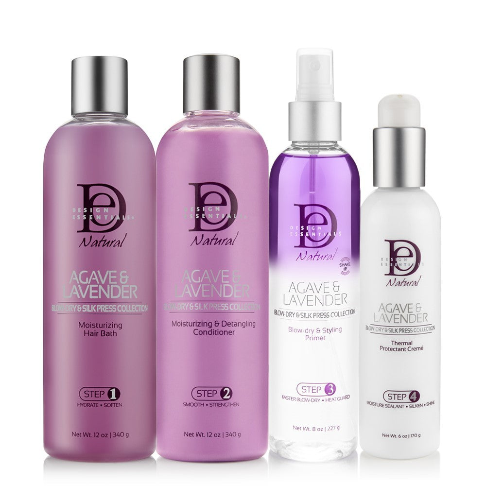 Agave & Lavender Blow-Dry & Silk Press Collection