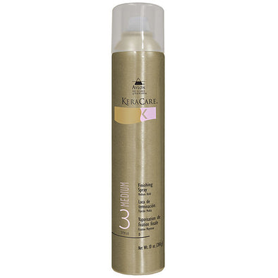 FINISHING SPRAY MEDIUM HOLD By Kera Care Brand