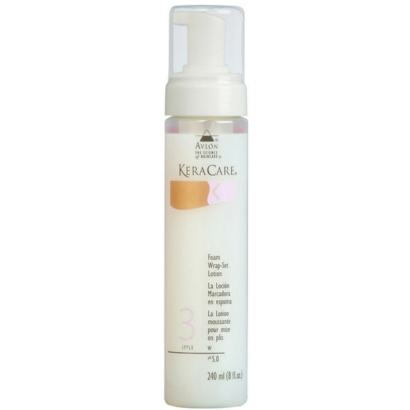 FOAM WRAP-SET LOTION By Kera Care Brand