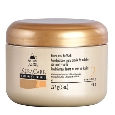 NATURAL TEXTURES HONEY SHEA CO-WASH By Kera Care Brand