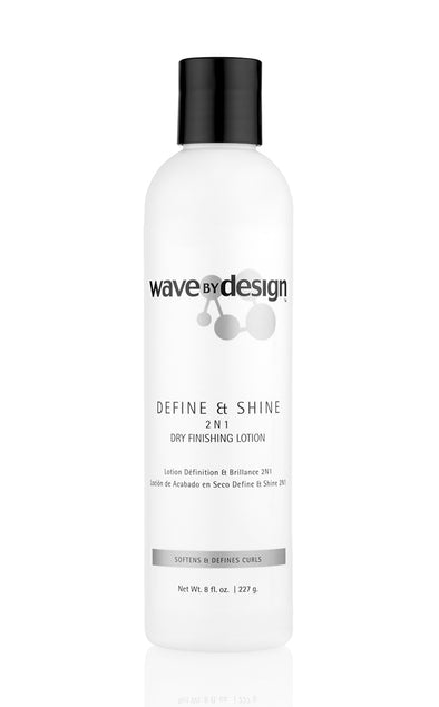 DEFINE & SHINE 2-N-1 DRY FINISHING LOTION