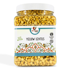 Yellow_Chana_DaL_Lentil - NY Spice Shop