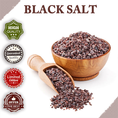 Black Salt Powder (Kala Namak) - NY_Spice_Shop