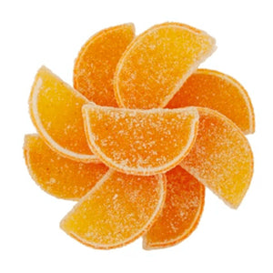 CHILI MANGO JELLY FRUIT SLICES - NY Spice Shop