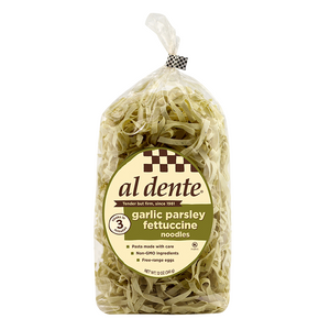 Garlic Parsley Fettuccine Pasta - 12Oz - NY Spice Shop