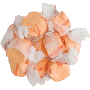 Bring the refreshing taste of citrus to your gourmet candy with this delicious salt water taffy. Offering a burst of orange flavor and melt-in-your-mouth soft texture this old-fashioned favorite is a top choice for candy lovers of all ages. The individual twist wrappers show off the vibrant orange candy - NY Spice Shop