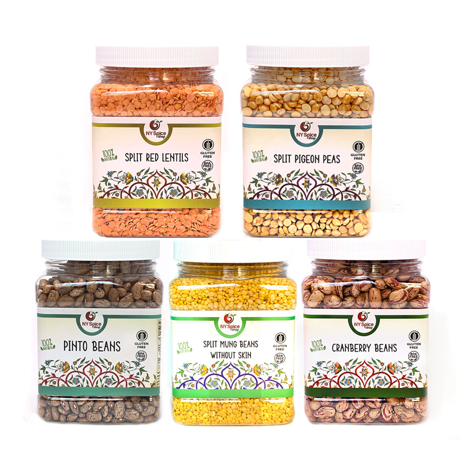 Legumes - Set Of 5 - NY Spice Shop