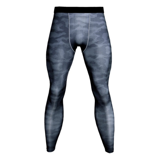 Men's Camouflage Compression Tights Leggings Pants Quick Drying - DGACTIVE