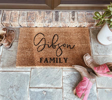 Load image into Gallery viewer, Personalised door mats