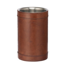 Load image into Gallery viewer, Leather wine cooler