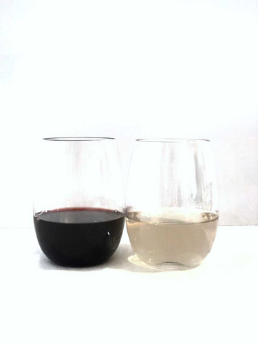 Stemless Wine Glasses - set of 8