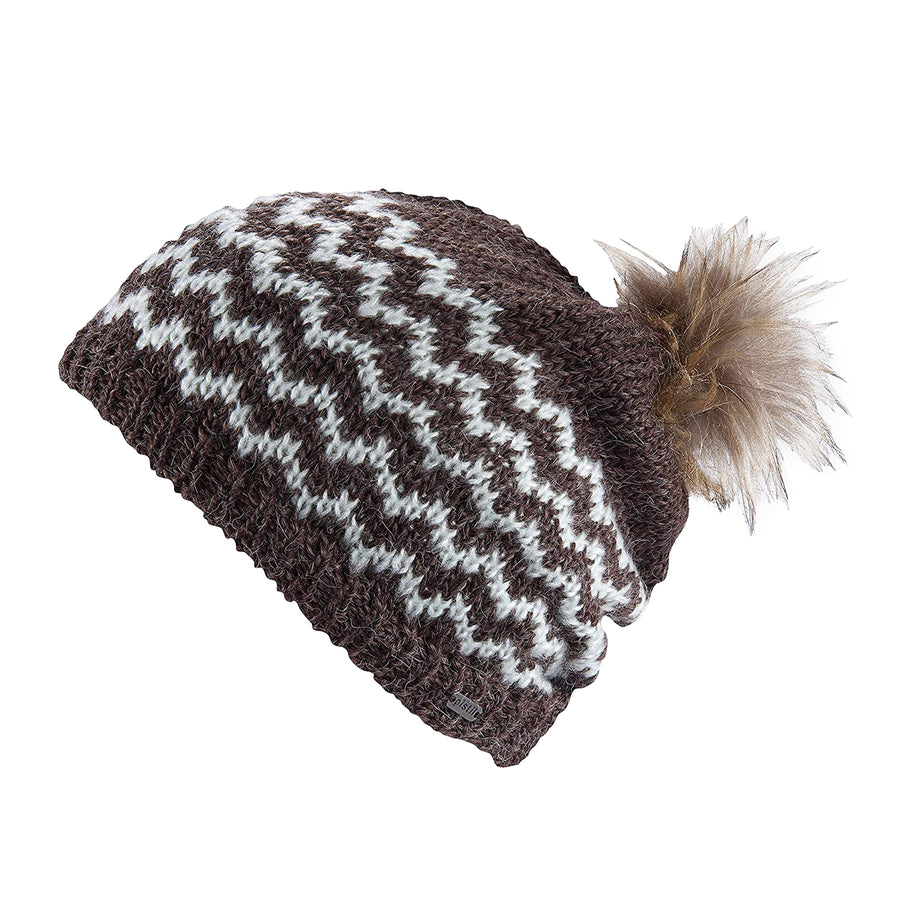Static Slouch Knit Beanie