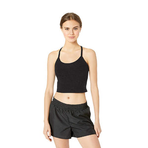 Slim Racerback Cropped SD Tank