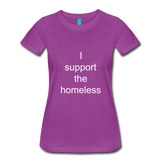 Women's Premium T-Shirt - light purple