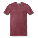 Men's Premium T-Shirt - heather burgundy