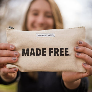 POUCH NATURAL MADE FREE - slave free market