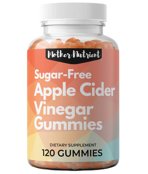 Sugar-Free Apple Cider Vinegar Gummies - Mother Nutrient