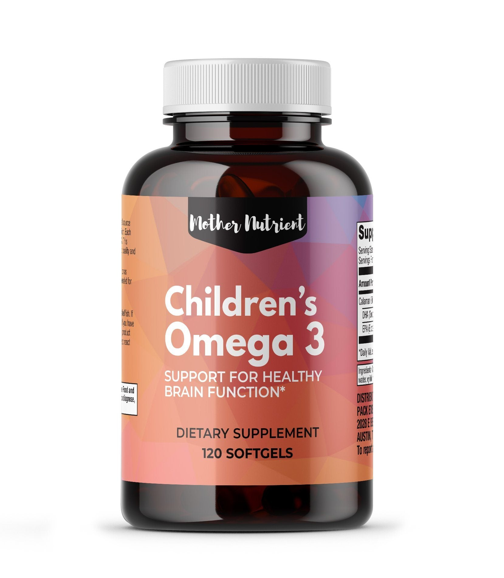 Children's Omega 3 - Mother Nutrient